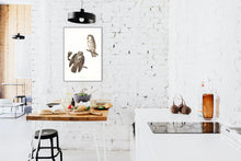 Load image into Gallery viewer, Tengmalm's Owl Print by John Audubon