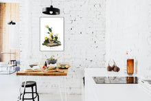 Load image into Gallery viewer, Grass Finch Bay-Winged Bunting Print by John Audubon