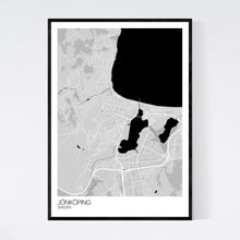 Load image into Gallery viewer, Jönköping City Map Print