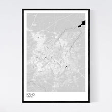 Load image into Gallery viewer, Kano City Map Print