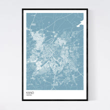 Load image into Gallery viewer, Map of Kano, Nigeria