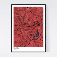 Load image into Gallery viewer, Kassel City Map Print