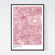 Load image into Gallery viewer, Kensington Neighbourhood Map Print