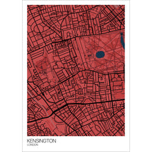 Load image into Gallery viewer, Map of Kensington, London