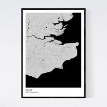 Load image into Gallery viewer, Kent Region Map Print