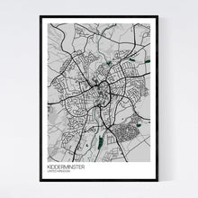 Load image into Gallery viewer, Map of Kidderminster, United Kingdom