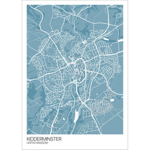 Map of Kidderminster, United Kingdom