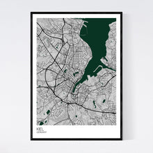 Load image into Gallery viewer, Kiel City Map Print