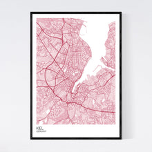 Load image into Gallery viewer, Map of Kiel, Germany