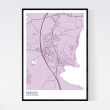 Load image into Gallery viewer, Kinross City Map Print