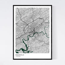 Load image into Gallery viewer, Knoxville City Map Print