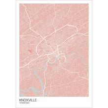 Load image into Gallery viewer, Map of Knoxville, Tennessee
