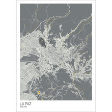 Load image into Gallery viewer, Map of La Paz, Bolivia