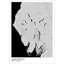 Load image into Gallery viewer, Map of Lake District, United Kingdom