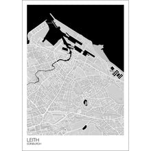 Load image into Gallery viewer, Leith Neighbourhood Map Print