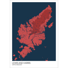 Load image into Gallery viewer, Map of Lewis and Harris, United Kingdom