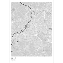 Load image into Gallery viewer, Map of Lille, France