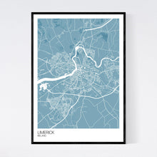 Load image into Gallery viewer, Map of Limerick, Ireland