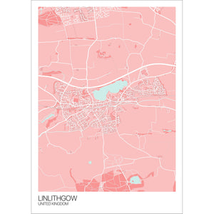 Map of Linlithgow, United Kingdom