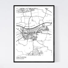 Load image into Gallery viewer, Linlithgow City Map Print