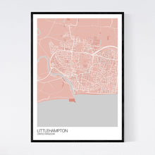 Load image into Gallery viewer, Map of Littlehampton, United Kingdom