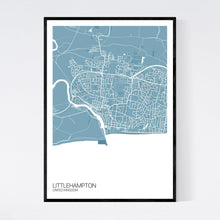 Load image into Gallery viewer, Littlehampton City Map Print