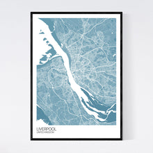 Load image into Gallery viewer, Liverpool City Map Print