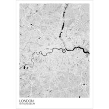 Load image into Gallery viewer, Map of London, United Kingdom