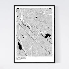 Load image into Gallery viewer, Mechelen City Map Print