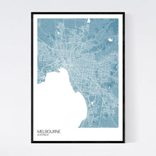 Load image into Gallery viewer, Map of Melbourne, Australia