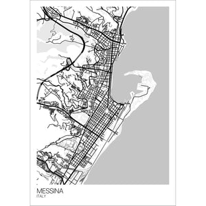 Messina City Map Print