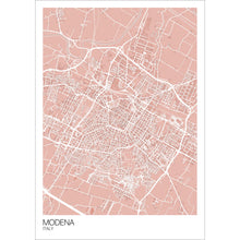 Load image into Gallery viewer, Map of Modena, Italy