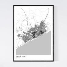 Load image into Gallery viewer, Mogadishu City Map Print