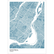 Load image into Gallery viewer, Map of Montreal, Canada