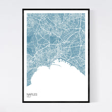 Load image into Gallery viewer, Naples City Map Print