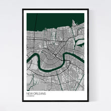 Load image into Gallery viewer, New Orleans City Map Print