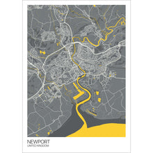 Load image into Gallery viewer, Map of Newport, United Kingdom
