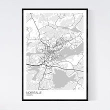 Load image into Gallery viewer, Map of Norrtälje, Sweden