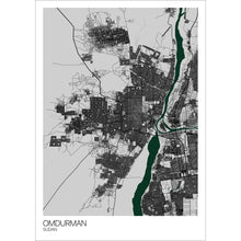 Load image into Gallery viewer, Map of Omdurman, Sudan