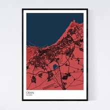 Load image into Gallery viewer, Oran City Map Print
