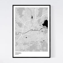 Load image into Gallery viewer, Map of Örebro, Sweden