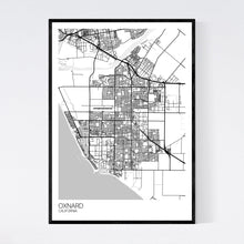 Load image into Gallery viewer, Oxnard City Map Print