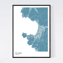 Load image into Gallery viewer, Pa Tong Region Map Print