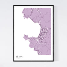 Load image into Gallery viewer, Map of Pa Tong, Thailand