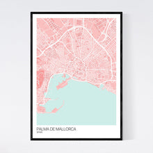 Load image into Gallery viewer, Palma de Mallorca City Map Print
