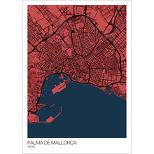 Load image into Gallery viewer, Map of Palma de Mallorca, Spain