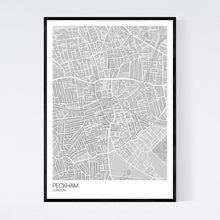 Load image into Gallery viewer, Peckham Neighbourhood Map Print