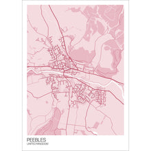 Load image into Gallery viewer, Map of Peebles, United Kingdom
