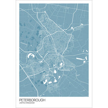 Load image into Gallery viewer, Map of Peterborough, United Kingdom