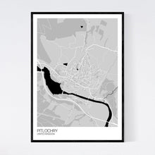Load image into Gallery viewer, Pitlochry Town Map Print